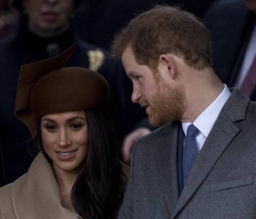 Meghan Markle e il principe Harry, coppia d'oro 19