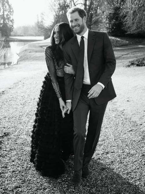 Meghan Markle e il principe Harry, coppia d'oro 20