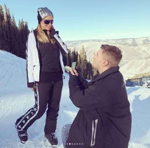 Paris Hilton, la proposta di matrimonio