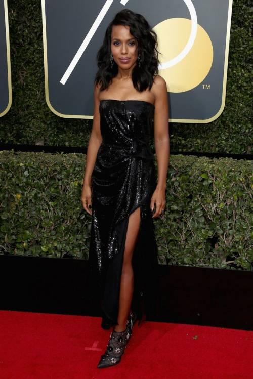 Golden Globe 2018, star in nero sul red carpet 4