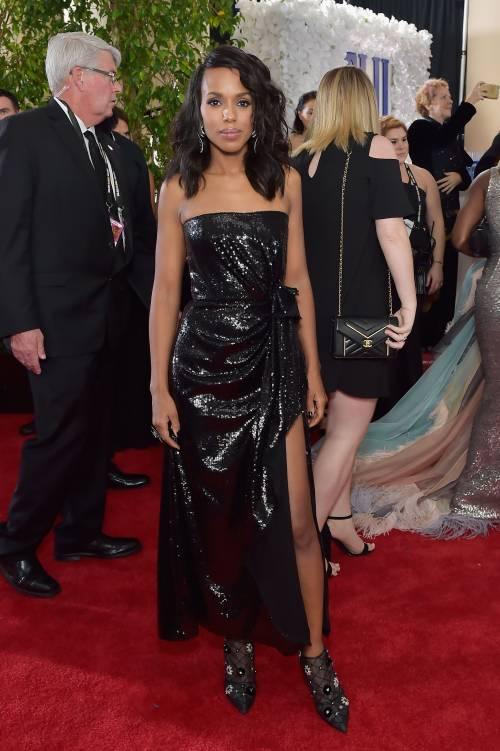 Golden Globe 2018, star in nero sul red carpet 5