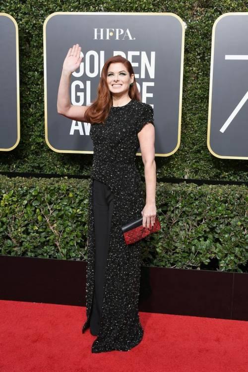 Golden Globe 2018, star in nero sul red carpet 2