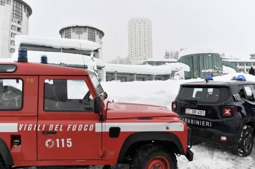 La neve blocca l'ambulanza: muore una donna a Sestriere