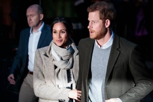 Meghan Markle e Principe Harry, prima uscita ufficiale del 2018 5