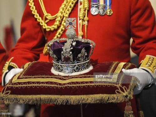 I gioielli della Corona sepolti durante la guerra