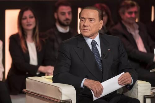 """Macerata, Berlusconi: """"Gesto di uno squilibrato"""""""