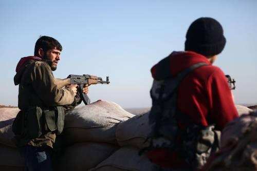 Le milizie filo-turche pronte ad attaccare i curdi 7