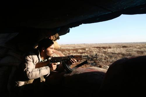 Le milizie filo-turche pronte ad attaccare i curdi 9