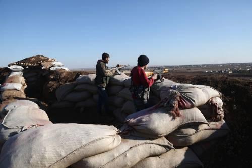 Le milizie filo-turche pronte ad attaccare i curdi 11