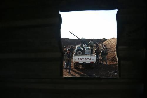 Le milizie filo-turche pronte ad attaccare i curdi 3