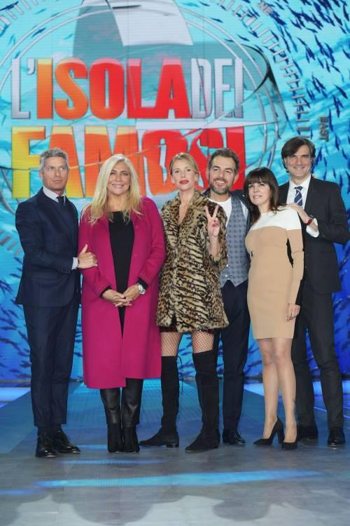 Isola dei Famosi 2018, Alessia Marcuzzi e gli opinionisti 1