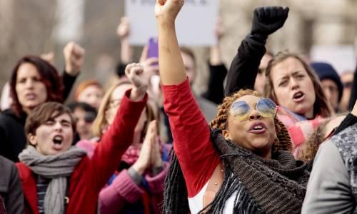 Women's March e Sag Awards 2018, le donne 5