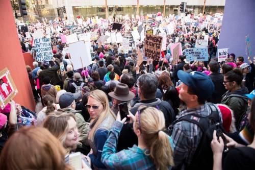 Women's March e Sag Awards 2018, le donne 7