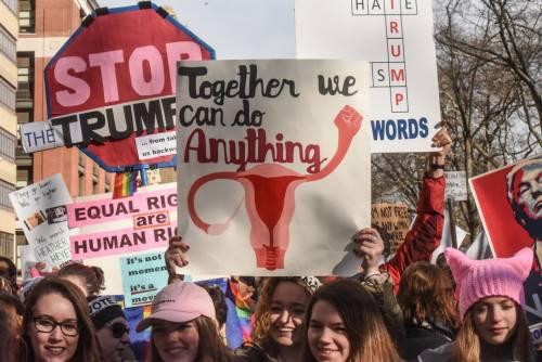 Women's March e Sag Awards 2018, le donne 10