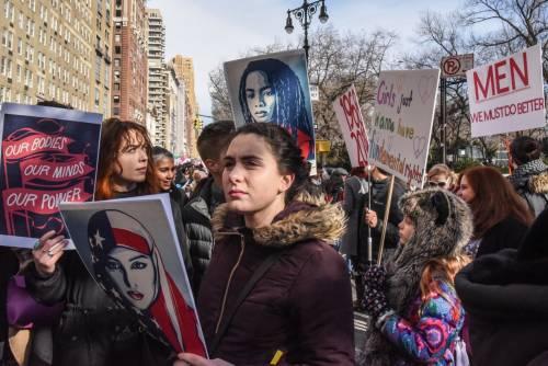 Women's March e Sag Awards 2018, le donne 11