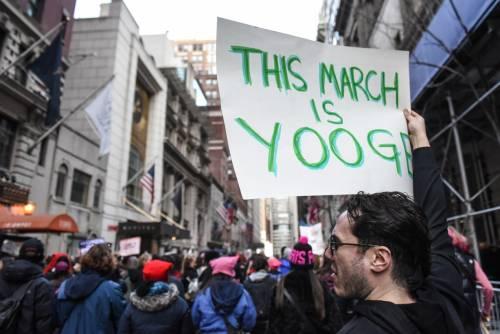 Women's March e Sag Awards 2018, le donne 14