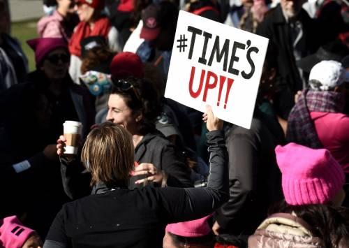 Women's March e Sag Awards 2018, le donne 16