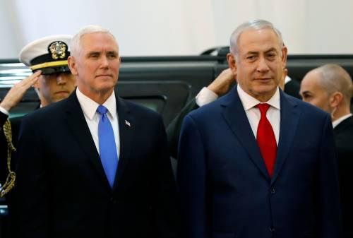"Pence alla Knesset: ""Ambasciata Usa a Gerusalemme entro fine 2019"""