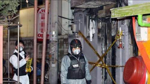 Corea,l'albergo gli rifiuta la stanza e lui lo incendia: cinque morti