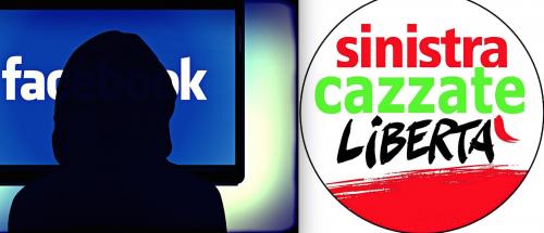 Fanno satira non di sinistra: Facebook gli chiude la pagina