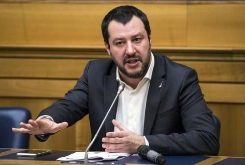 """Salvini: """"Rapinare è un 'mestiere' pericoloso. La legittima difesa è un diritto"""""""