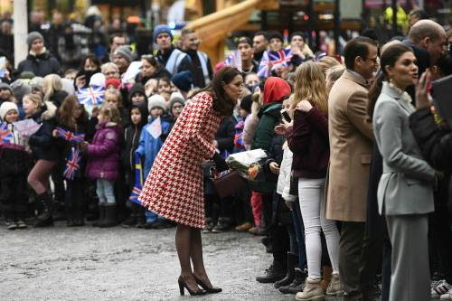 Kate Middleton visita la Scandinavia 7