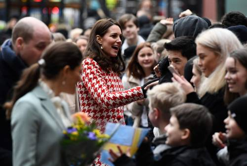 Kate Middleton visita la Scandinavia 13
