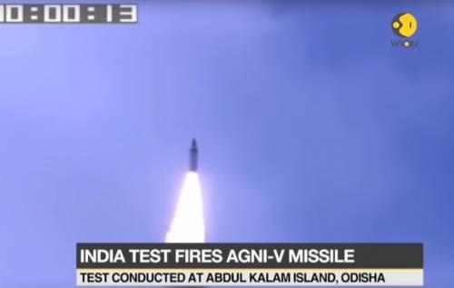 Nuovo missile balistico indiano. Il pericolo non è solo coreano