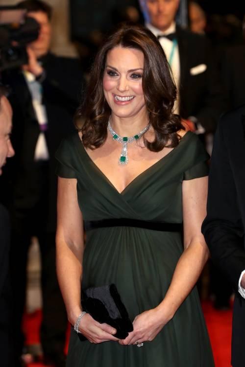 Kate Middleton incinta ai Bafta 2018 3