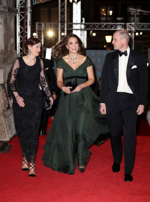 Kate Middleton incinta ai Bafta 2018 6