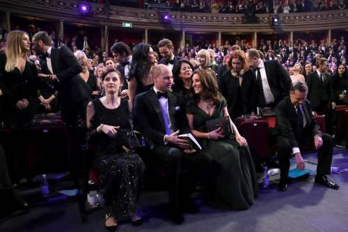 Kate Middleton incinta ai Bafta 2018 13