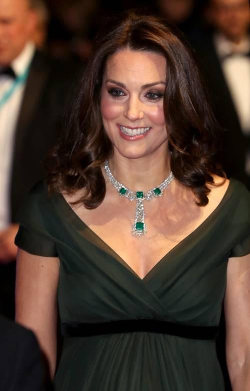 Kate Middleton incinta ai Bafta 2018 17