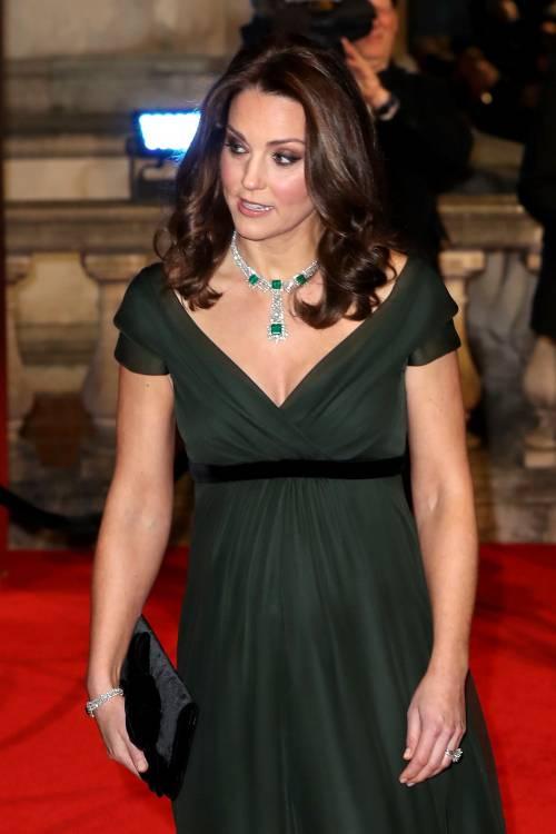 Kate Middleton incinta ai Bafta 2018 18