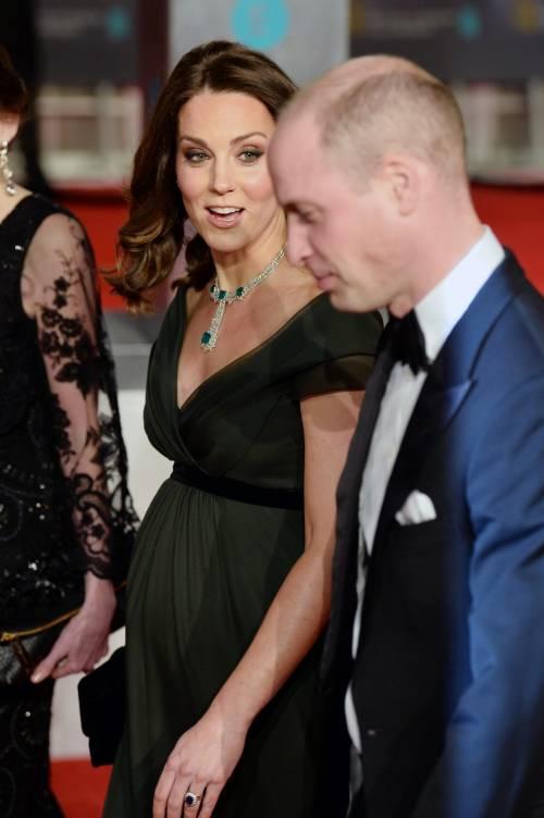 Kate Middleton incinta ai Bafta 2018 1