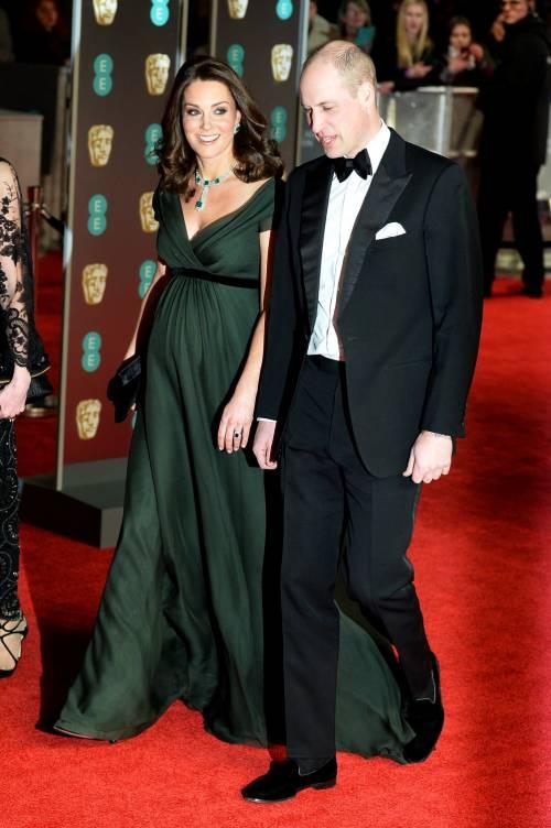 Kate Middleton incinta ai Bafta 2018 7