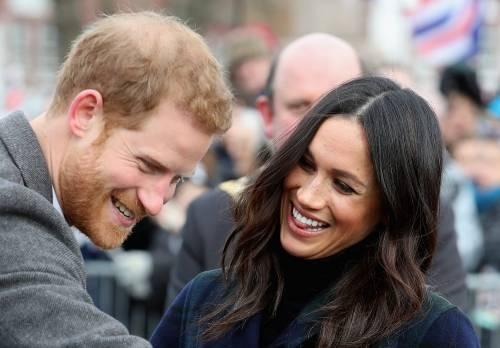 Meghan Markle raggiante col Principe Harry 7