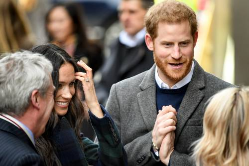 Meghan Markle raggiante col Principe Harry 8