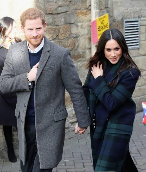 Meghan Markle raggiante col Principe Harry 17