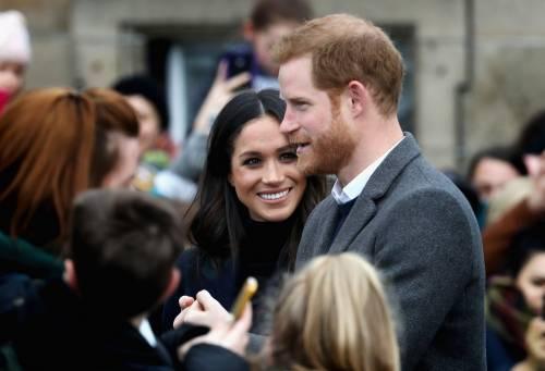 Meghan Markle raggiante col Principe Harry 18