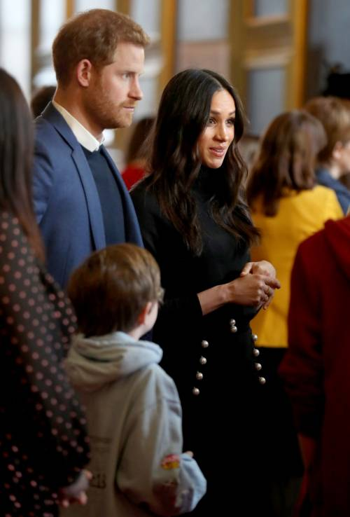Meghan Markle raggiante col Principe Harry 4