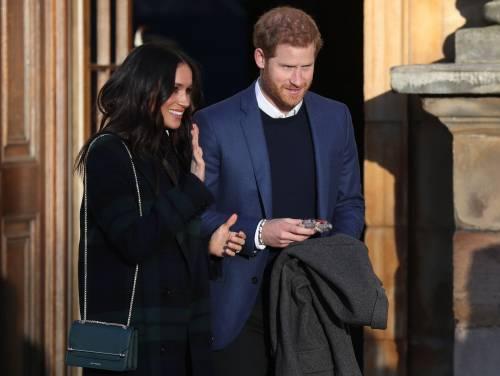 Meghan Markle raggiante col Principe Harry 5
