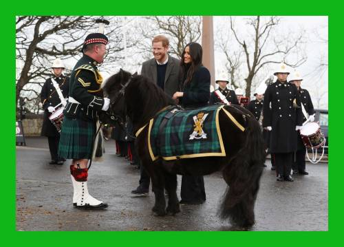 Meghan Markle raggiante col Principe Harry 6