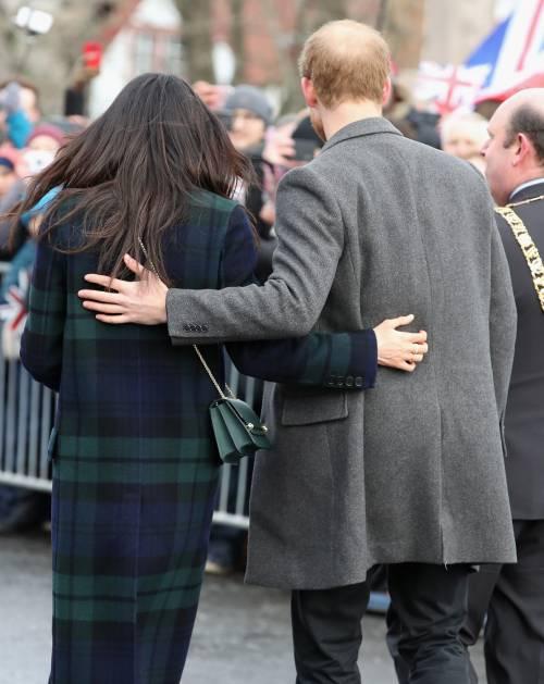 Meghan Markle raggiante col Principe Harry 9