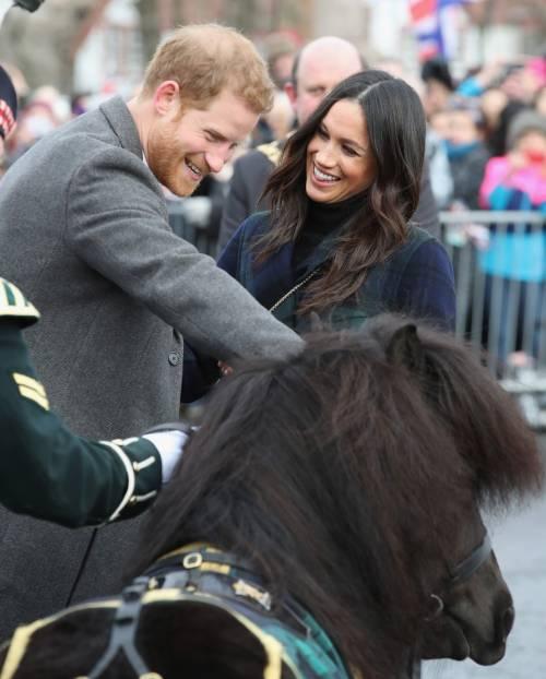 Meghan Markle raggiante col Principe Harry 10