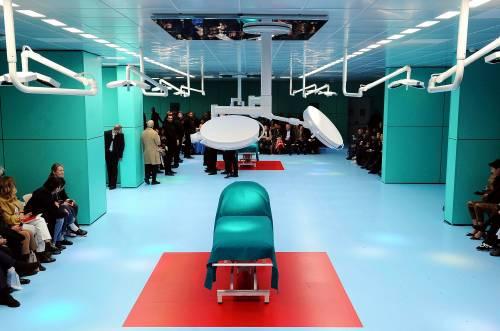 Gucci, la sfilata è nella sala operatoria 2