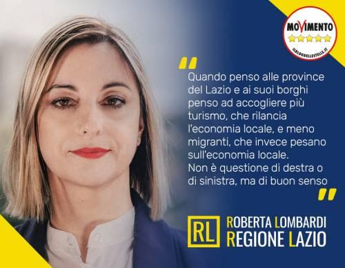 """Regionali Lazio, Lombardi: """"Più turisti e meno migranti"""""""
