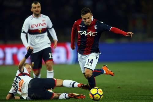 Il Bologna stende il Genoa: 2-0 siglato Destro-Falletti