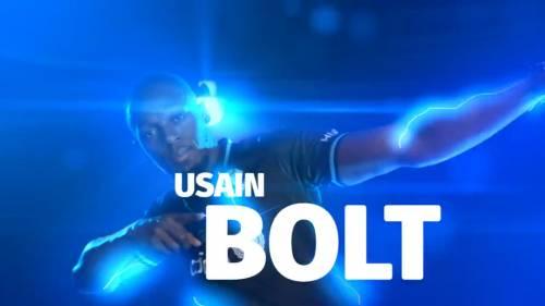 Usain Bolt giocherà a calcio... ma per una partita con l'Unicef