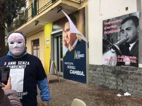 """""""Vota Giggino La Trippa"""": l'iniziativa dei Cobas contro Di Maio"""