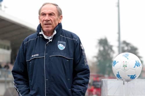 Il Pescara esonera Zeman: fatale la decima sconfitta in campionato